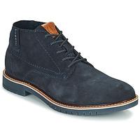 kengät Miehet Bootsit Bugatti PLUTONO Laivastonsininen