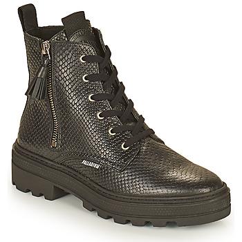 kengät Naiset Bootsit Palladium Manufacture CULT 04 NAP Musta