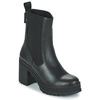 kengät Naiset Nilkkurit Palladium Manufacture MONA 02 NAP Musta