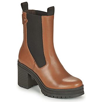kengät Naiset Nilkkurit Palladium Manufacture MONA 02 NAP Ruskea
