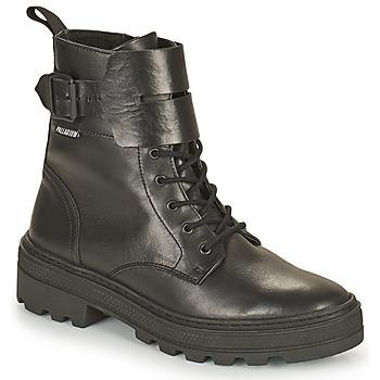 kengät Naiset Bootsit Palladium Manufacture CULT 03 NAP Musta