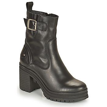 kengät Naiset Nilkkurit Palladium Manufacture MONA 01 NAP Musta