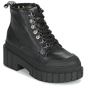 kengät Naiset Bootsit No Name KROSS LOW BOOTS Musta