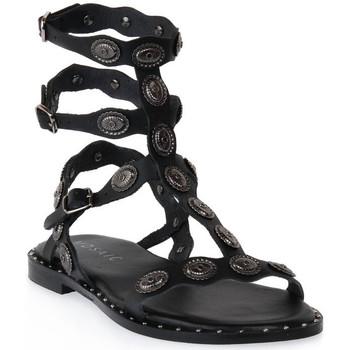 kengät Naiset Sandaalit ja avokkaat Mosaic 3030 VITELLO NERO Nero
