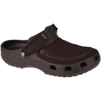 kengät Miehet Puukengät Crocs Classic Yukon Vista II Clog Marron