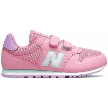 kengät Tytöt Matalavartiset tennarit New Balance 500 Vaaleanpunaiset