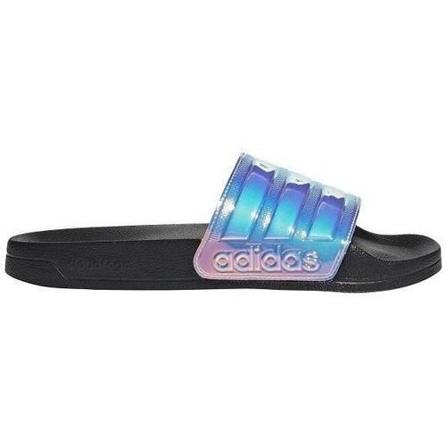 kengät Naiset Rantasandaalit adidas Originals W Adilette Holo Vaaleansiniset