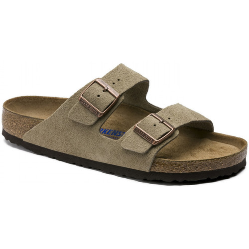 kengät Miehet Sandaalit Birkenstock Arizona sfb cuir suede Viininpunainen