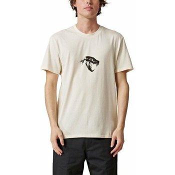 vaatteet Miehet Lyhythihainen t-paita Globe T-shirt  Dion Agius Hollow beige