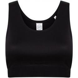 vaatteet Tytöt Urheiluliivit Skinni Fit SM236 Black/Black