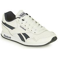 kengät Pojat Matalavartiset tennarit Reebok Classic REEBOK ROYAL CLJOG Valkoinen / Musta