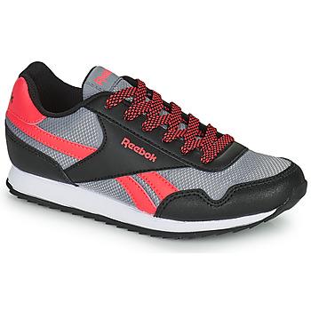kengät Lapset Matalavartiset tennarit Reebok Classic REEBOK ROYAL CLJOG Musta / Punainen