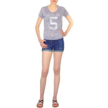 vaatteet Naiset Shortsit / Bermuda-shortsit School Rag SAILOR COMFORT Blue