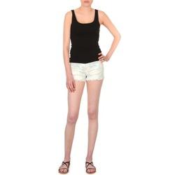 vaatteet Naiset Shortsit / Bermuda-shortsit School Rag SELENA FLOWERS Valkoinen / Kukkainen