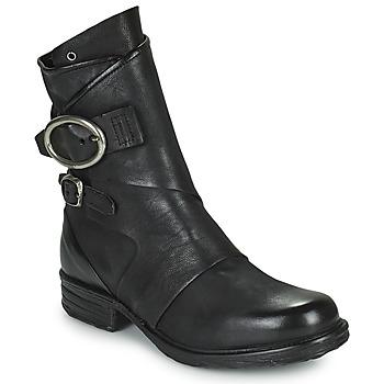 kengät Naiset Bootsit Airstep / A.S.98 SAINTEC DOUBLE Musta
