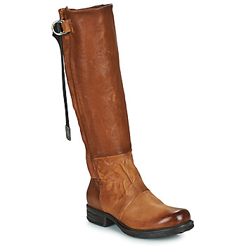 kengät Naiset Saappaat Airstep / A.S.98 SAINTEC HIGH Kamelinruskea