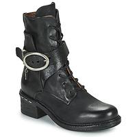 kengät Naiset Nilkkurit Airstep / A.S.98 NOVASUPER LACE Musta