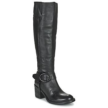 kengät Naiset Saappaat Airstep / A.S.98 JAMAL HIGH Musta