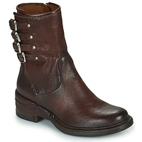 kengät Naiset Bootsit Airstep / A.S.98 MIRACLE BUCKLE Viininpunainen