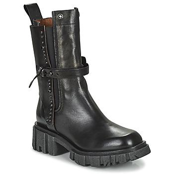 kengät Naiset Bootsit Airstep / A.S.98 HELL STUD Musta