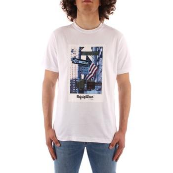 vaatteet Miehet Lyhythihainen t-paita Refrigiwear JE9101-T24400 WHITE