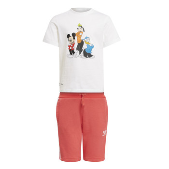 vaatteet Lapset Kokonaisuus adidas Originals BONNUR Monivärinen