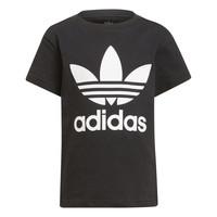 vaatteet Lapset Lyhythihainen t-paita adidas Originals CHANTIS Musta