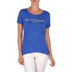 vaatteet Naiset Lyhythihainen t-paita School Rag TEMMY WOMAN Blue
