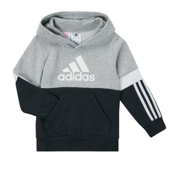 vaatteet Pojat Svetari adidas Performance CRAKA Harmaa / Musta