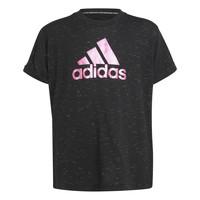 vaatteet Tytöt Lyhythihainen t-paita adidas Performance MONICA Musta