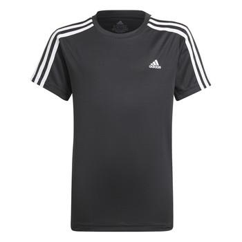 vaatteet Pojat Lyhythihainen t-paita adidas Performance MARIONA Musta