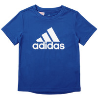 vaatteet Pojat Lyhythihainen t-paita adidas Performance CLAUDIA Sininen