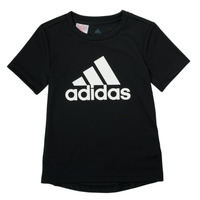 vaatteet Pojat Lyhythihainen t-paita adidas Performance NADGED Musta