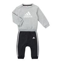 vaatteet Pojat Kokonaisuus adidas Performance SONIA Harmaa / Musta