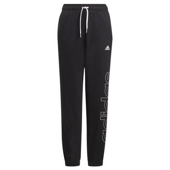 vaatteet Pojat Verryttelyhousut adidas Performance PETILA Musta
