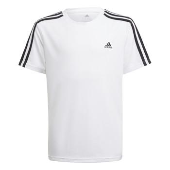 vaatteet Pojat Lyhythihainen t-paita adidas Performance AYMERICA Valkoinen