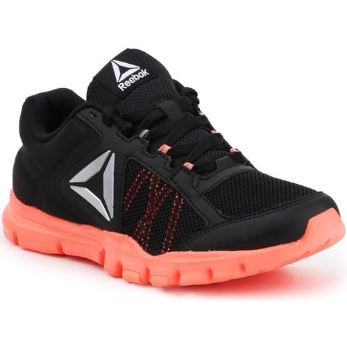 kengät Naiset Fitness / Training Reebok Sport YOURFLEX TRAINETTE 9.0 MT BS8042 black, koralowy