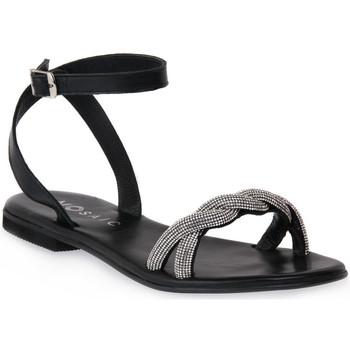 kengät Naiset Sandaalit ja avokkaat Mosaic NERO SHINE Nero