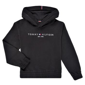vaatteet Tytöt Svetari Tommy Hilfiger DEMINRA Musta