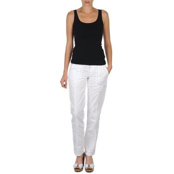 vaatteet Naiset 5-taskuiset housut O'neill DANI White