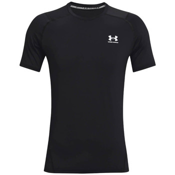 vaatteet Miehet Lyhythihainen t-paita Under Armour Heatgear Armour Fitted Short Sleeve Noir