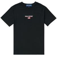 vaatteet Pojat Lyhythihainen t-paita Polo Ralph Lauren ANNITA Musta