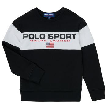 vaatteet Pojat Svetari Polo Ralph Lauren SIMEON Musta