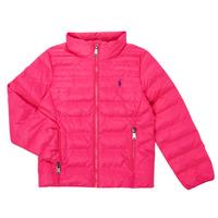 vaatteet Tytöt Toppatakki Polo Ralph Lauren PERTUN Vaaleanpunainen