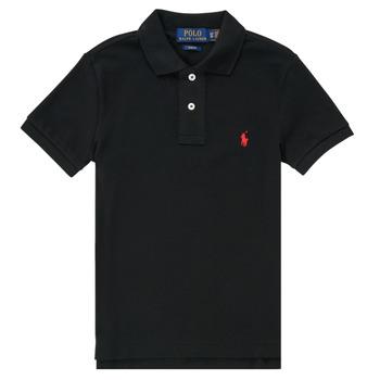 vaatteet Pojat Lyhythihainen poolopaita Polo Ralph Lauren HOULIA Musta