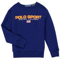 vaatteet Pojat Svetari Polo Ralph Lauren SENINA Laivastonsininen