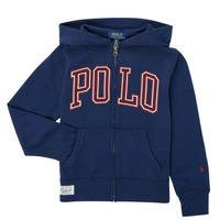 vaatteet Pojat Svetari Polo Ralph Lauren FERINA Laivastonsininen