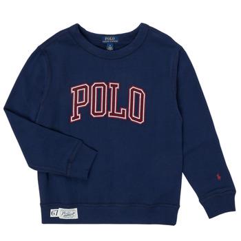 vaatteet Pojat Svetari Polo Ralph Lauren KAMILLAR Laivastonsininen