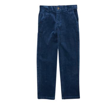 vaatteet Pojat 5-taskuiset housut Polo Ralph Lauren FRETTI Laivastonsininen