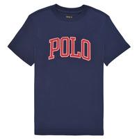 vaatteet Tytöt Lyhythihainen t-paita Polo Ralph Lauren MATIKA Laivastonsininen